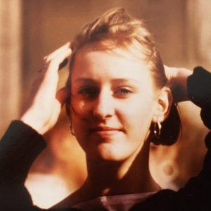Katharina Pachta als Teenager